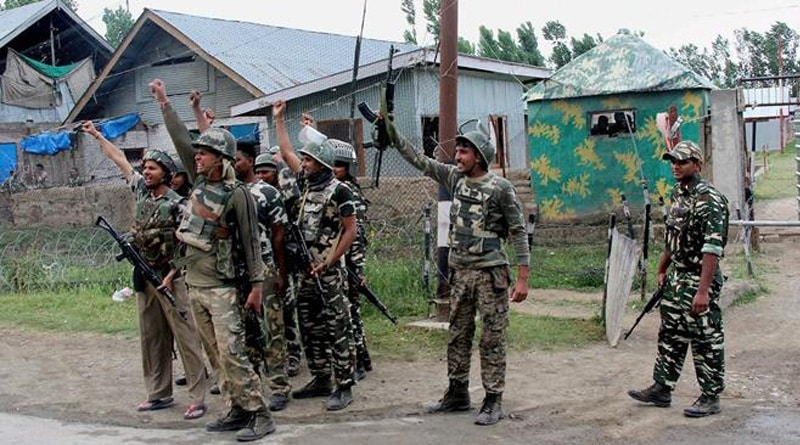 Encounter breaks out between Indian Army and terrorists in J&K