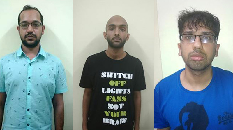 3 drug peddlers arrested in the city, Magic Masroom recovered