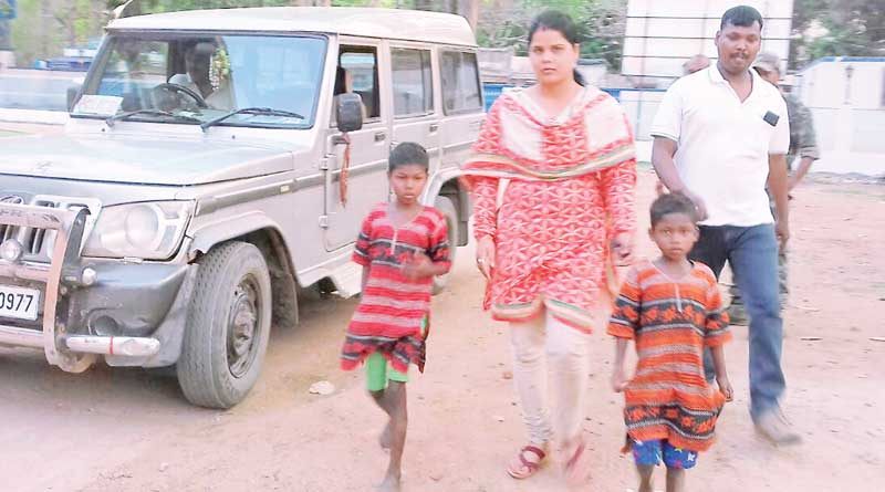Two children rescued from Jungle in Lalgarh