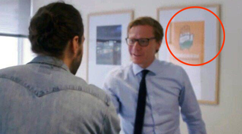 'Congress poster' in Cambridge Analytica CEO's London office