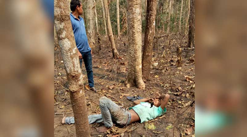 Injured youth rescued from Dooars jungle