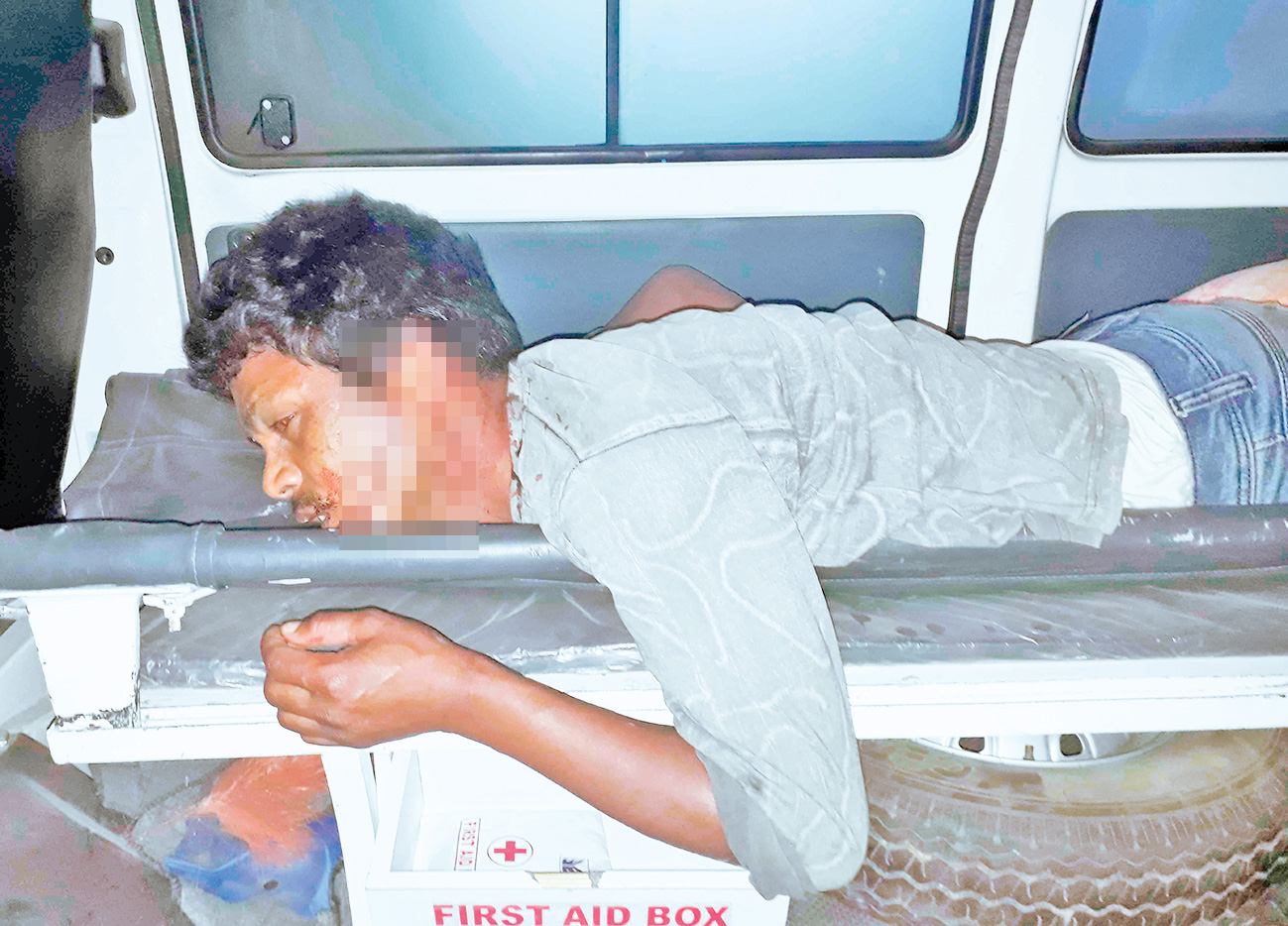 Jalpaiguri: man allegedly stabbed by youth due to love affairs