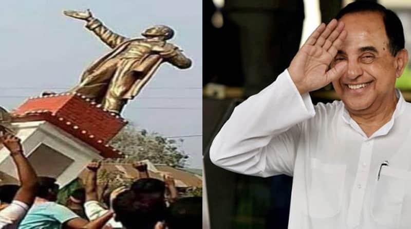 Lenin a foreign terrorist, says BJP's Subramanian Swamy