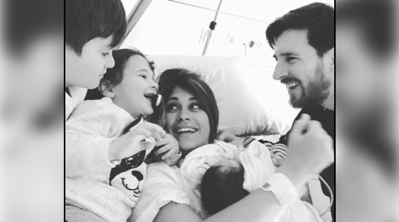 Lionel Messi welcomes his third son Ciro