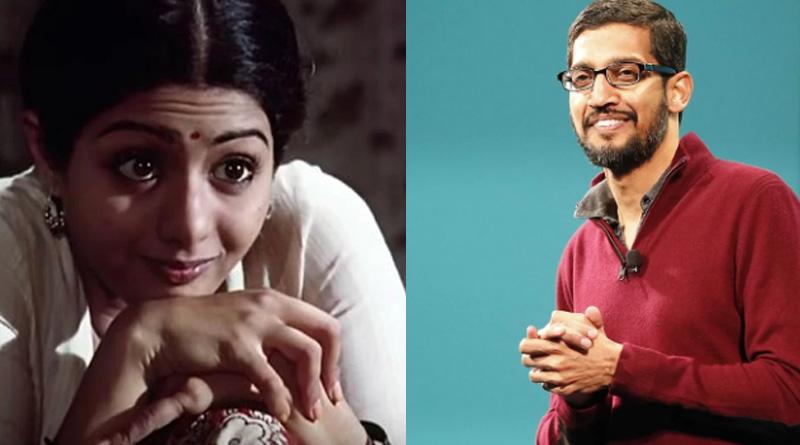 Google CEO Sundar Pichai pays tribute to Sridevi