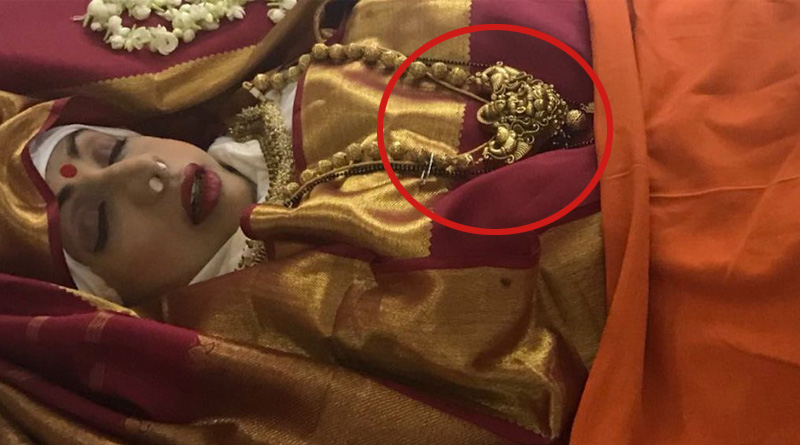 The temple jewellery on Sridevi during her last journey had a reason