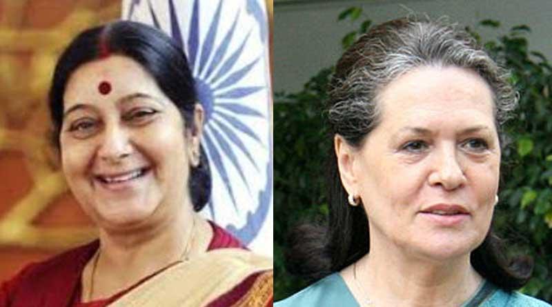 Sushma Swaraj more influential than Sonia Gandhi: Report