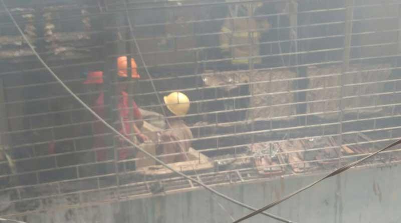 Fire rages at Bowbazar, 4 sustain burn injury