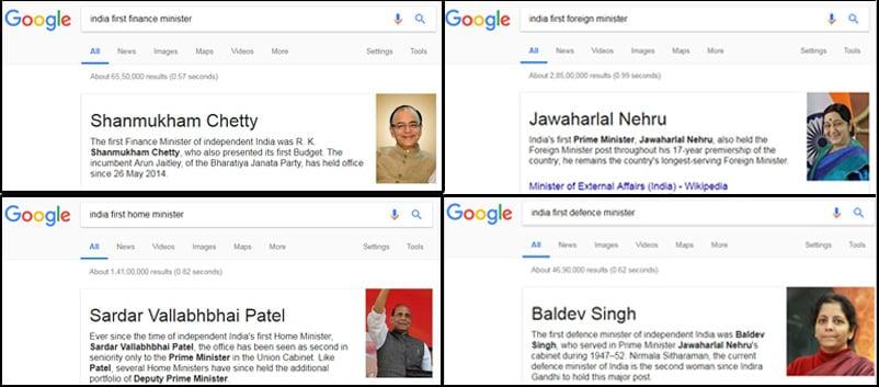 Google-Minister