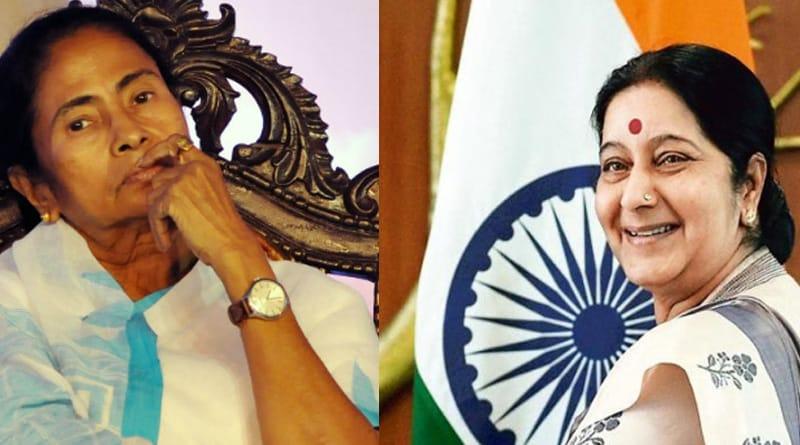 Sushama Swaraj writes to Mamata Banerjee, asks to lead representatives to China