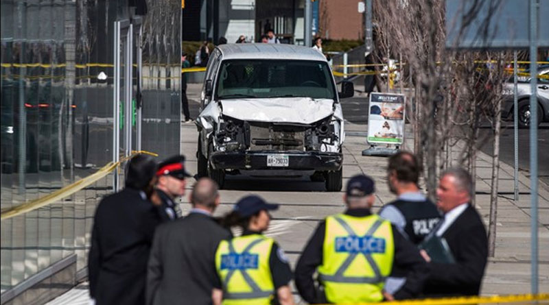 Police have identified the man who allegedly plowed through a busy Toronto sidewalk killing at least 10 people.