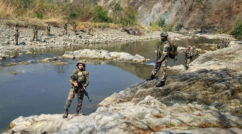 3 terrorists trapped in Bandipora