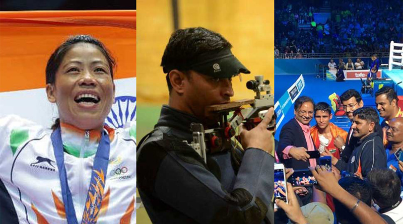 CWG 2018: India dominates CWG 2018; Sanjeev Rajput, Mary Kom win gold