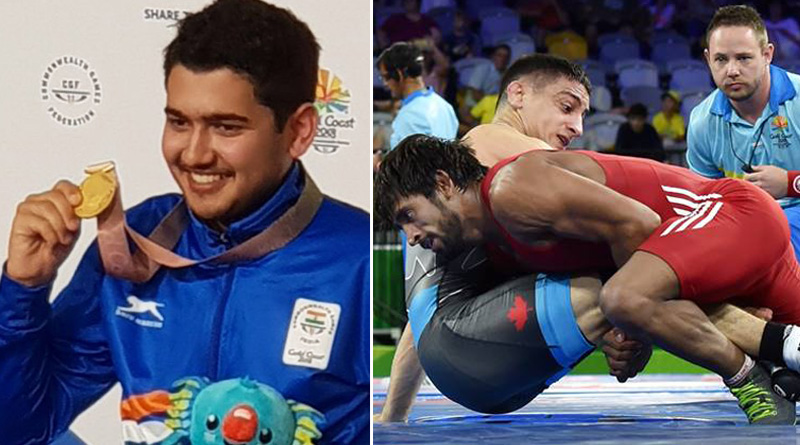 CWG 2018: Shooter Anish Bhanwala, wrestler Bajrang Punia win gold