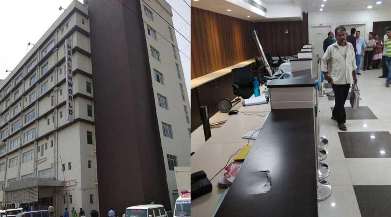 Durgapur: patient's family members ransack a nursing home in city centre
