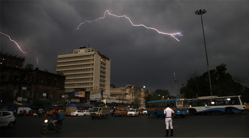 Storm alert in 13 states, rain to skip West Bengal