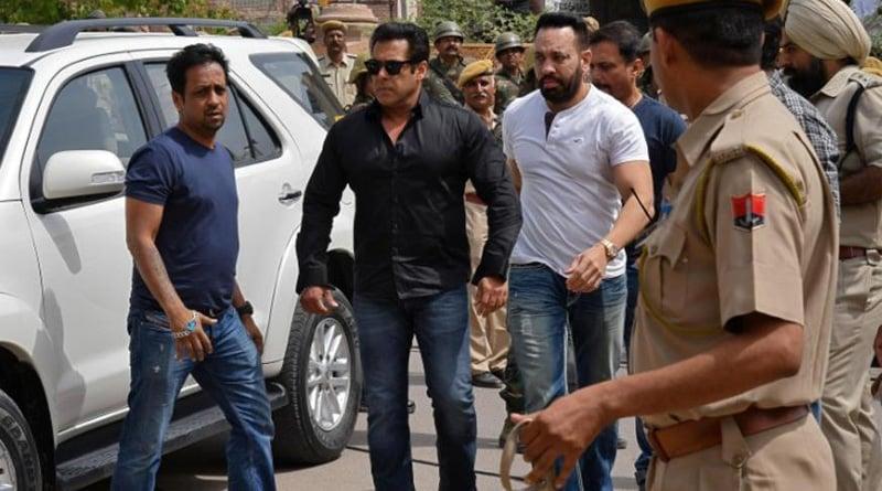 Poacher Salman Khan spends night in Jodhpur Central jail
