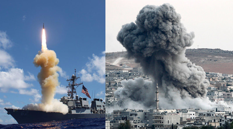 US, allies launch massive missile attack on Syrian military bases