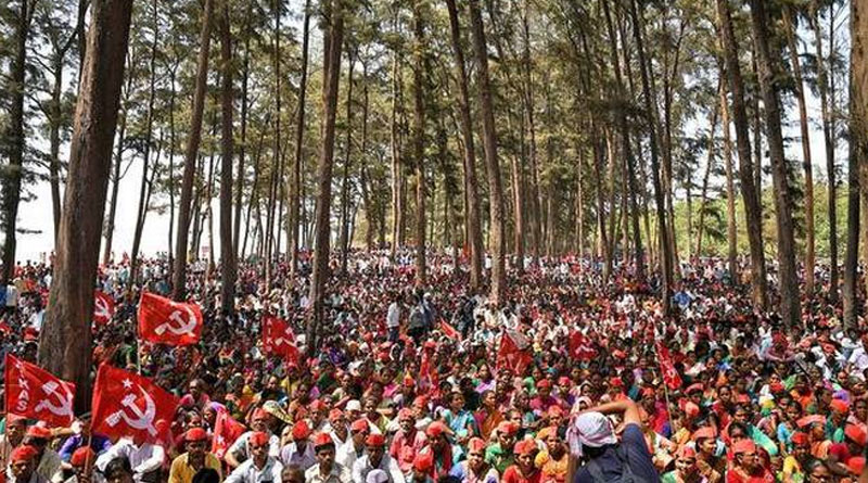 50,000 farmers protest bullet train, expressway