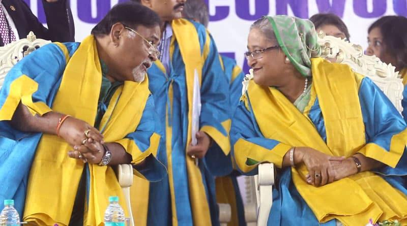 Bangladesh PM Sheikh Hasina conferred D Ltt by Nazrul University