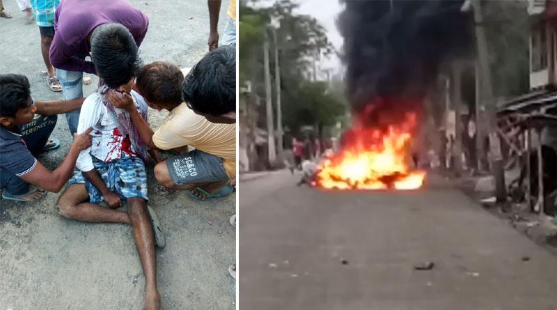 Panchayat polls: massive chaos in Bhangar, one dead