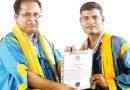 দারিদ্রর সঙ্গে যুঝে উচ্চশিক্ষা, নজরুল বিশ্ববিদ্যালয়ের সমাবর্তনে সম্মানিত সুবীর