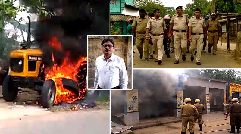The TMC leaders kill at Dhanakhali