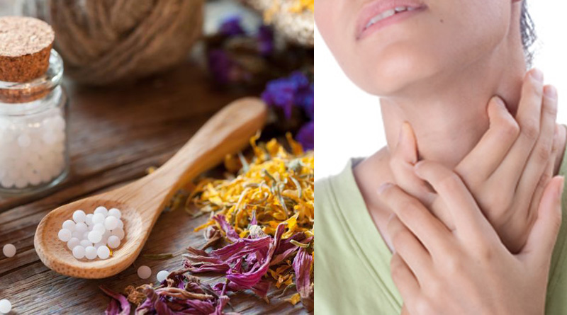Homeopathy can cure many throat ailments