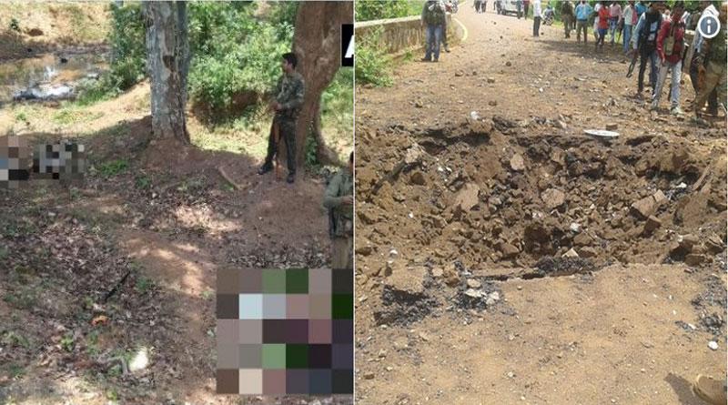 Five Jawans Killed in IED Blast in Chhattisgarh's Dantewada