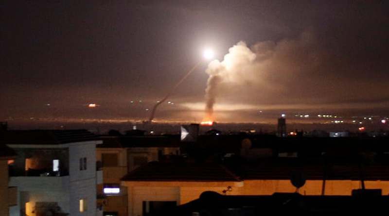Israel launches airstrikes in Gaza in response to attack by 'incendiary balloons' | Sangbad Pratidin