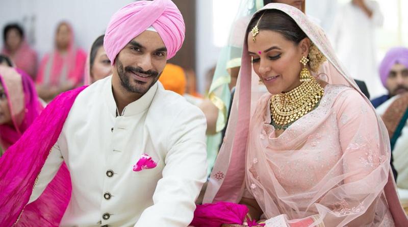 Neha Dhupia marries Angad Bedi