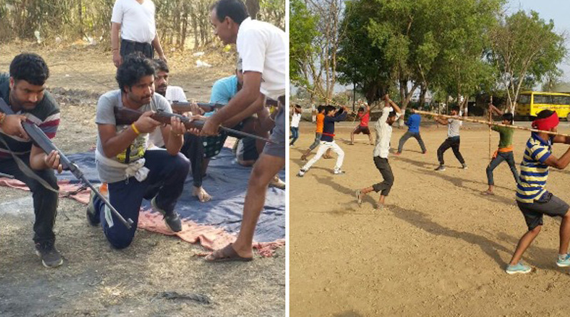 Bajrang Dal Organises camp to train arms in MP