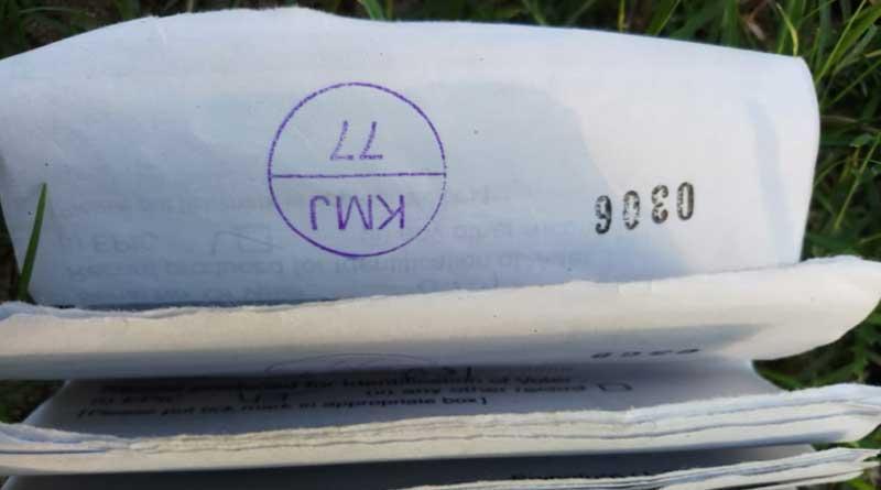 Ballot papers found dumped near South Dinajpur school