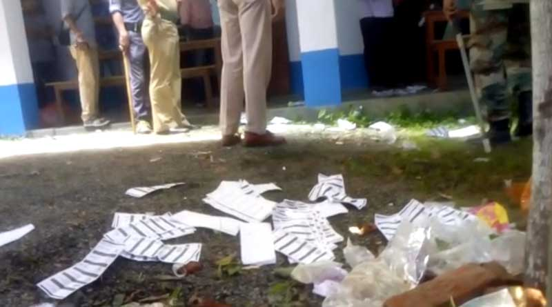 South Dinajpur: Ballot box allegedly taken away from counting centre by anti socials