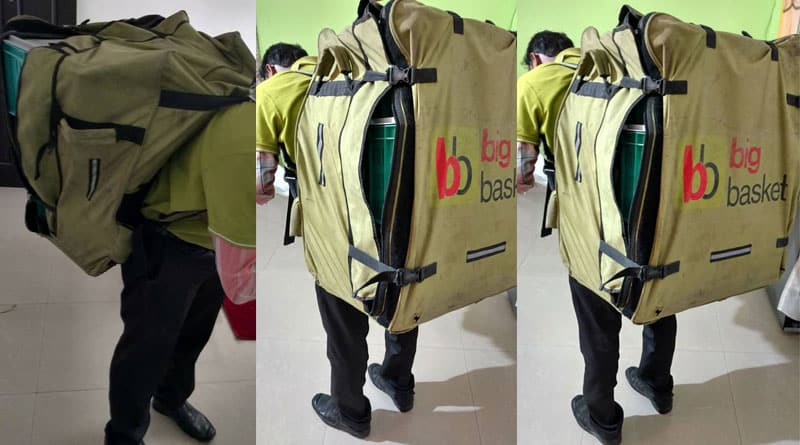 Post on work condition of bigbasket goes viral