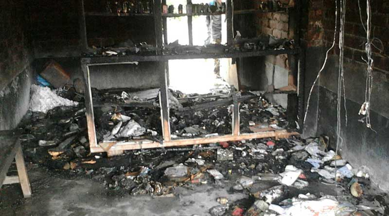 North 24 Parganas: Doctor's Chambar gutted in Fire in post poll violence