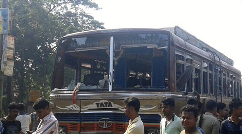 Driver jumps out of running bus, closes shave for passengers