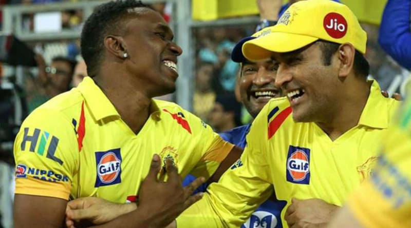 IPL 2018: MS Dhoni takes on Dwayne Bravo in a three run dash