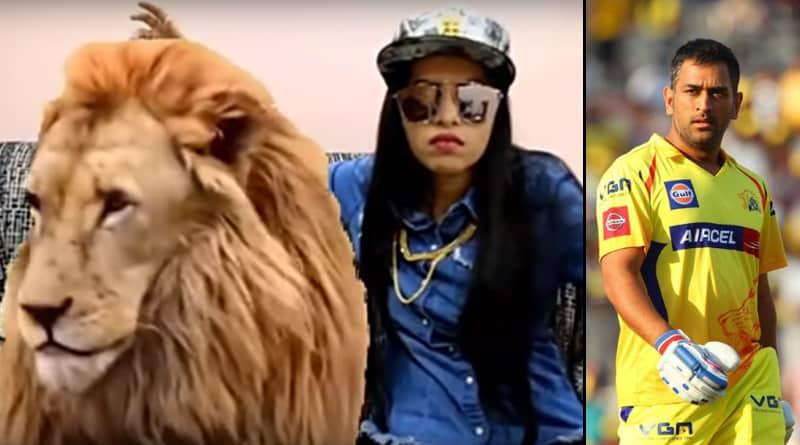 Dhinchak Pooja's song for MS Dhoni's CSK storms internet