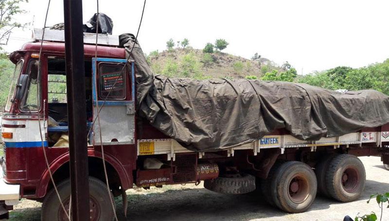 Over 1500 kg ganja recoverd from Malkangiri, Odisha