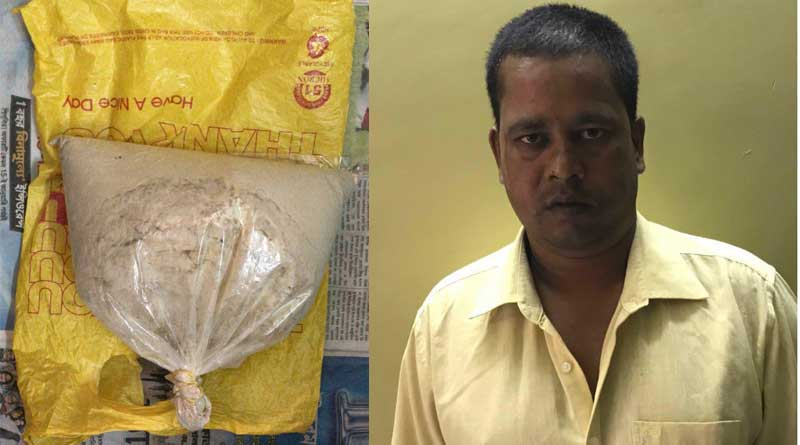 NCB nabs man with Rs 2 crore worth heroin in Murshidabad