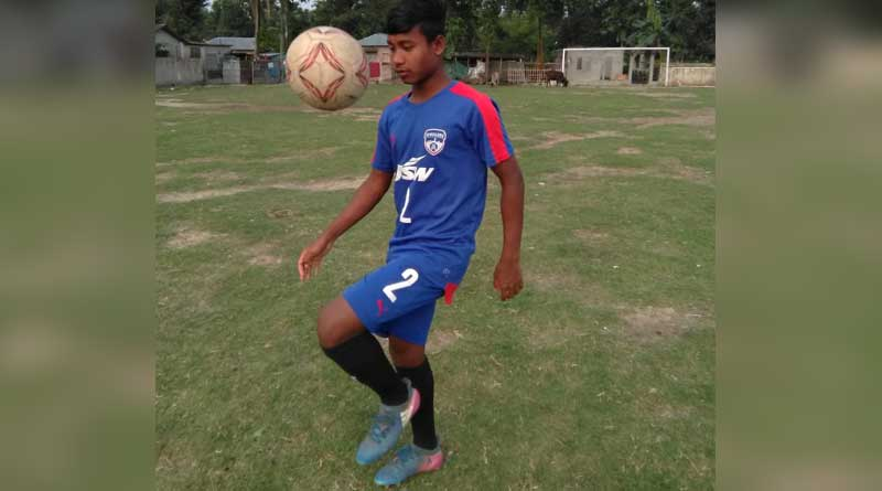 Siliguri: young footballer got chance to play in Bengaluru FC academy