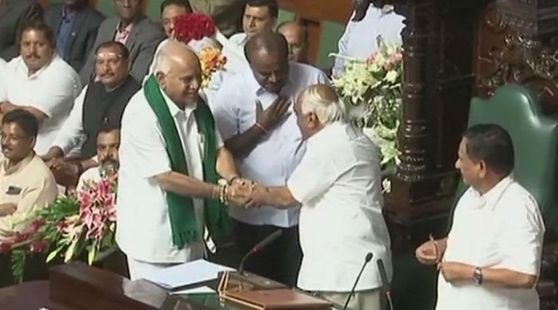 Congress-JDS wins trust vote in Karnataka Assembly