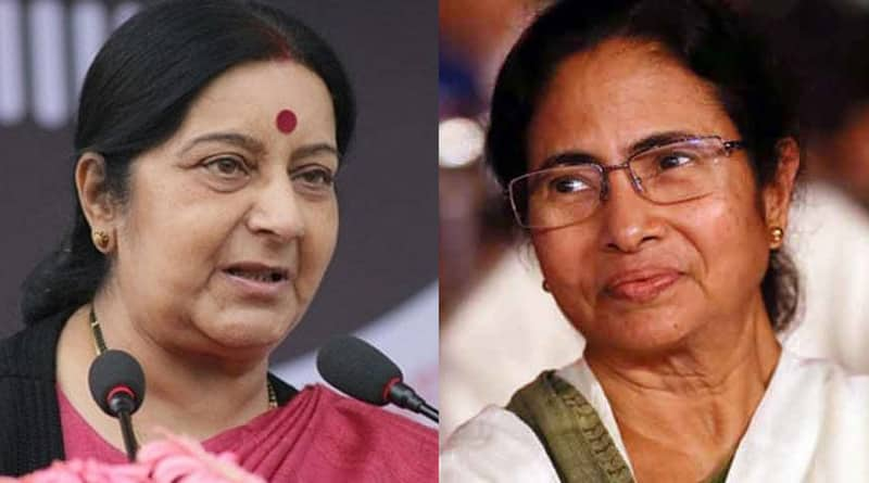 Center does not want water treaty with Bangladesh without Mamata, said Sushma