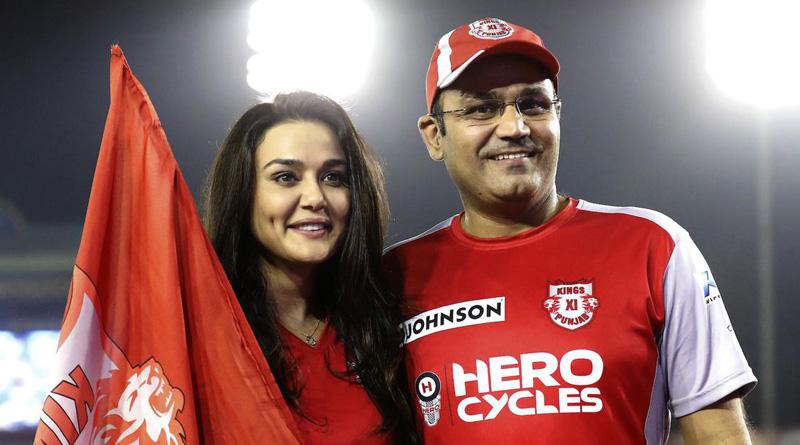 All is well between Preity Zinta-Virender Sehwag: Kings XI Punjab