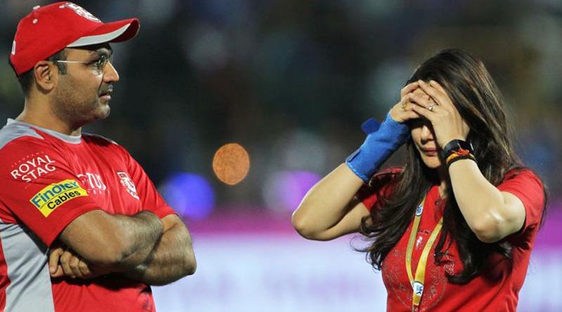 IPL 2018: Kings XI Punjab owner Preity Zinta, Virender Sehwag in verbal dual