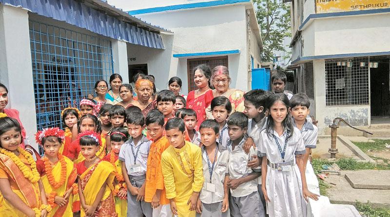 Barasat man renovates school to fulfill sister's wish