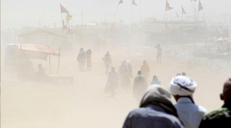 Heavy rain lashes Uttar Pradesh, death toll touches 45