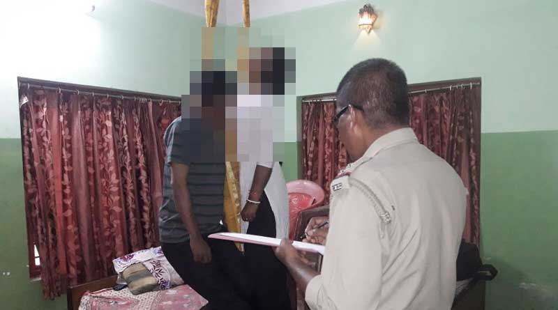Couple found hanging in Digha hotel