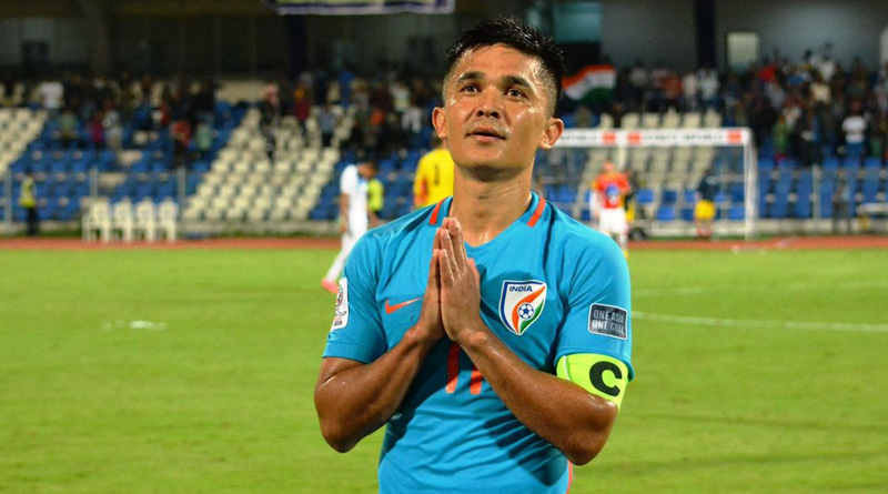 2018 Intercontinental Cup: Footballer Sunil Chhetri to appear in 100th match for India
